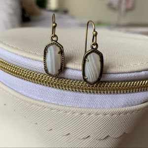 Kendra Scott Lee Brass Earrings